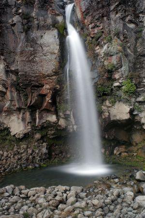 Taranaki falls new zealand Stock Photo - 375848