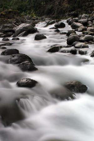 River rapids Stock Photo
