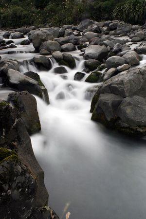 Upstream of rapids