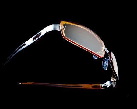 Floating glasses Stock Photo