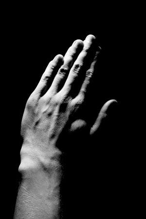 Hands in Prayer Stock Photo - 409324