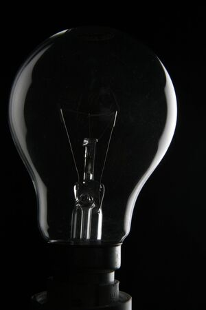 Light bulb in the dark Stock Photo - 409321