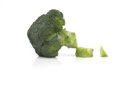 Cut brocoli Stock Photo