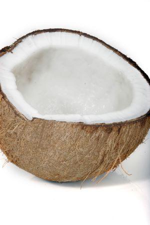 coconut shell Stock Photo