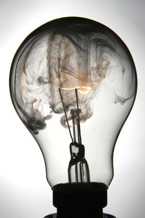 Exploding lightbulb Stock Photo - 443590