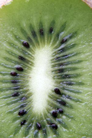 Kiwifruit center Stock Photo