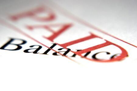 Paid Balance Stock Photo - 566731