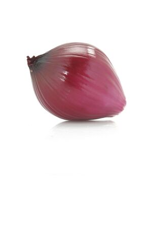 Red onion on white background Stock Photo - 572052