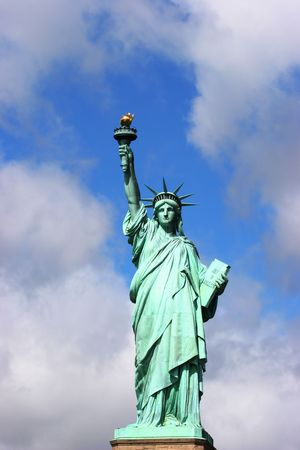 Statue of liberty front view Stock Photo - 3731304