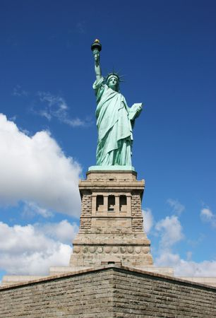 Statue of liberty front view Stock Photo - 3731306