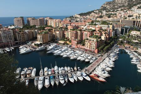 Marina with boats in Monte Carlo