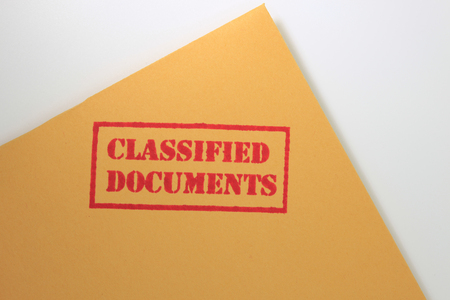 Classified Documents Stock Photo - 23334040