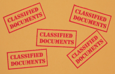 Classified Documents Stock Photo - 23334045