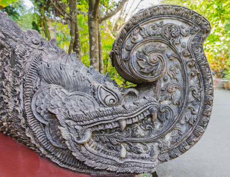 crocodile Thai tradition art sculpture photo
