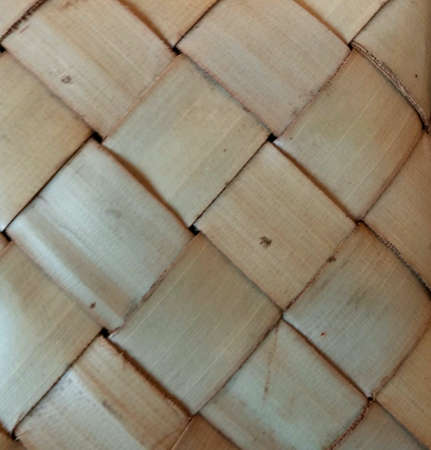 traditional textured: Pattern of bamboo weaving