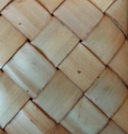 weave: Pattern of bamboo weaving