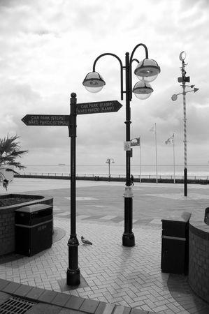 Signs, street lamps and weather vaneshiplitt
