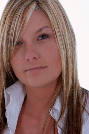 Headshot of young woman Stock Photo - 1280748