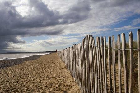 Walberswick Beach, Suffolk Stock Photo