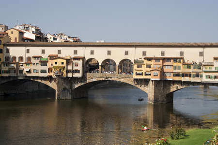 Ponte Vecchio Bridge in Florence  Stock Photo - 12541211