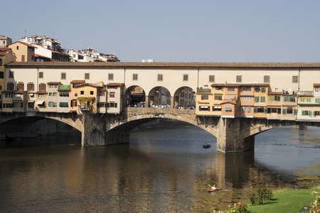 Ponte Vecchio Bridge in Florence Stock Photo - 12541211