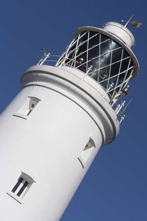 Close-up image of the lighthouse at Southwold, Suffolk