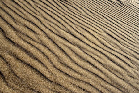 Close-up image showing the texture of sand