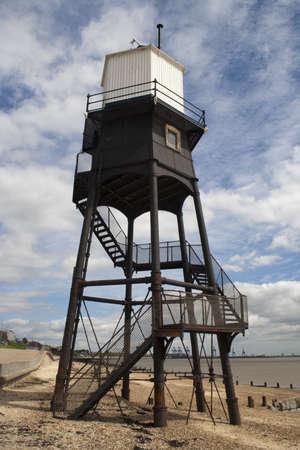 Lighthouse at Dovercourt, near Harwich, Essex, England