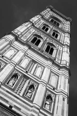campanile: The Campanile of Florence Cathedral Stock Photo