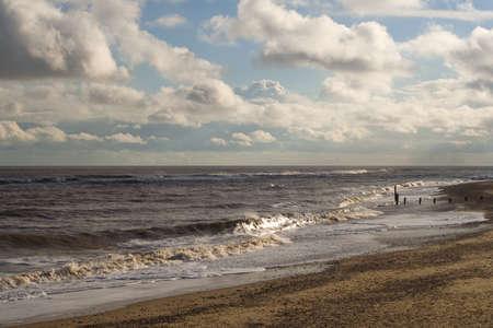 southwold: Coastline image of Southwold Beach, Suffolk, England