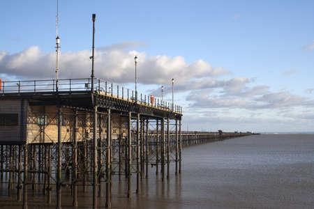 Southend Pier, Essex, East Anglia, England  Stock Photo
