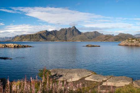 Mortsund, Lofoten Islands, Norway, Scandinavia