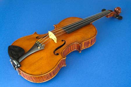 Closeup image of a violin