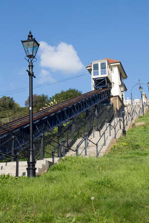 essex: Victorian Cliff Lift at Southend-on-Sea, Essex, England
