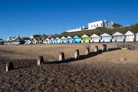 Southwold Beach, Suffolk, England on a sunny day