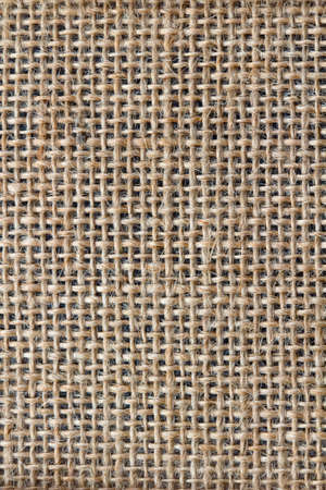 Closeup image showing the texture of hessian material Stock Photo