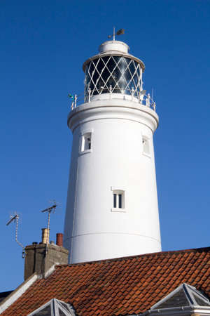 southwold: Lighthouse at Southwold, Suffolk, England Stock Photo