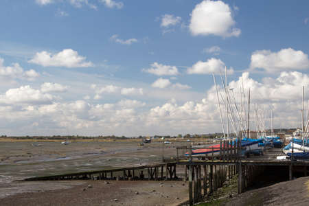 essex: Boats at Leigh-on-Sea, near Southend, Essex, England