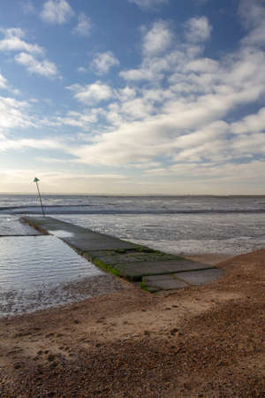 Bell Wharf Beach, Leigh-on-Sea, near Southend, Essex, England