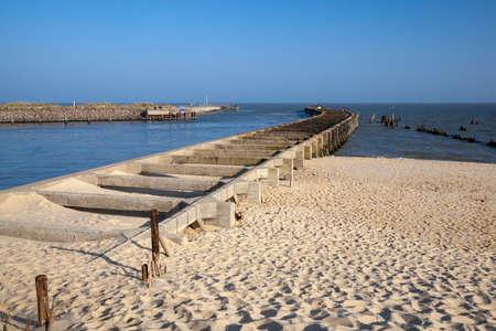 Walberswick Harbour, near Southwold, Suffolk, England,