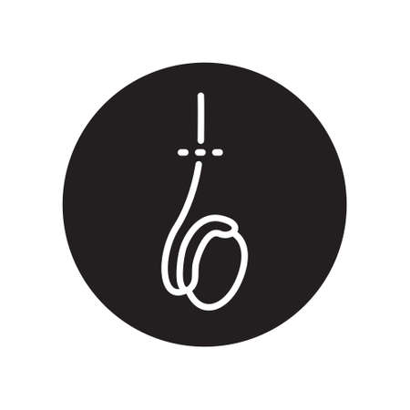 vasectomy line icon, vector simple illustration
