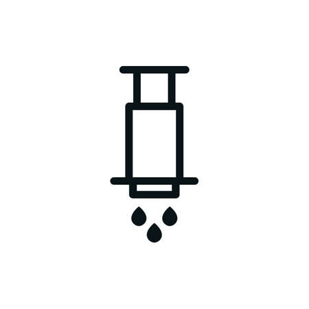alternative coffee maker. device for brewing coffee icon, vector color illustration