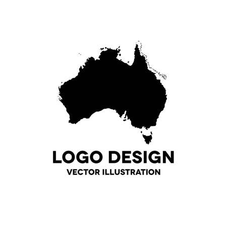 Australia infographic vector illustration, vector color illustration Çizim