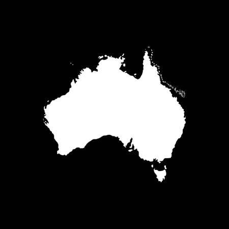 Australia infographic vector icon, vector color illistration