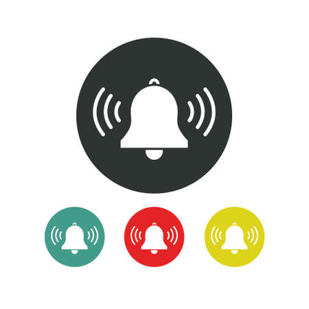 bell line icon, vector simple illustration