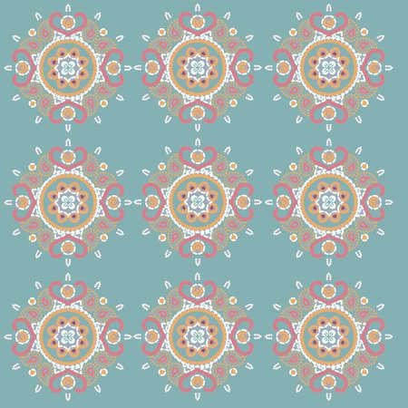 Lotus Pattern Illustration