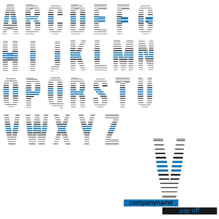 logo alphabet Illustration