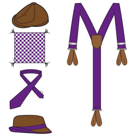 suspenders: Mens accessories