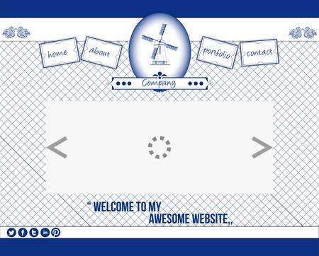 delftware: Delftware web template 1
