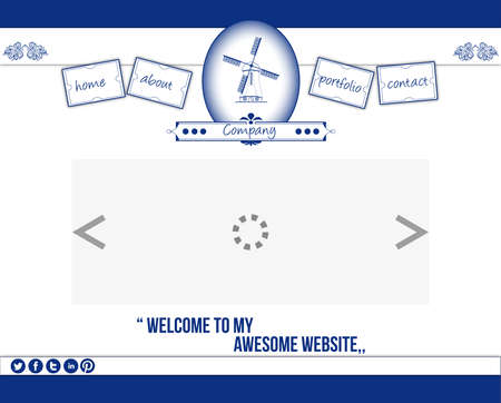 delftware: Delftware web template 2 Illustration
